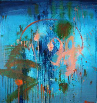 Borderland: Dancing on the Edge of Night by Barbara Steinberg