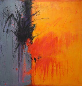 Boundaries: Encounter in Autumn by Barbara Steinberg